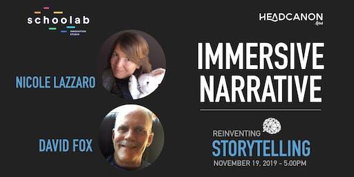 Reinventing Storytelling – Immersive Narrative