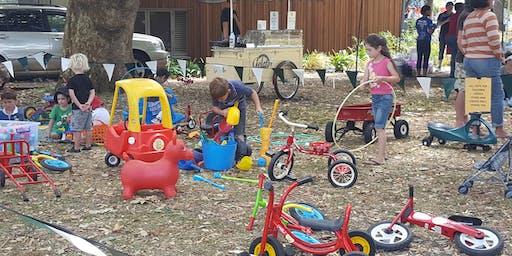Summer Fun Preschool Play at the Band Rotunda