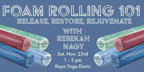 Foam Rolling 101 tickets