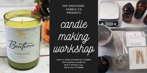Candle Making Workshop - November 22