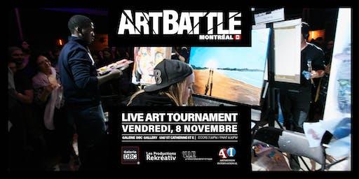 Art Battle Montréal - 8 Novembre, 2019