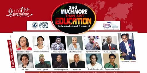 Much More Than Just Education International Summit 2019