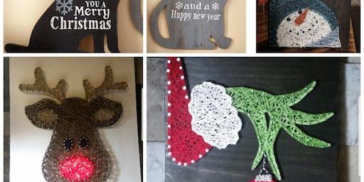 String Art  with Lisa Slate Belt Animal Advocacy