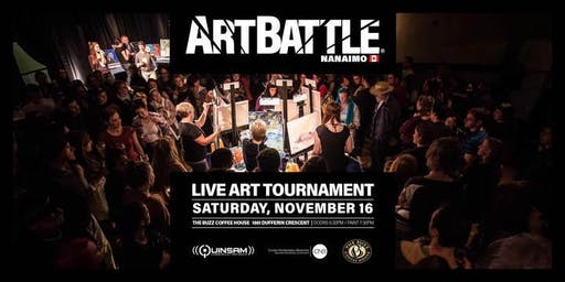 Art Battle Nanaimo - November 16, 2019