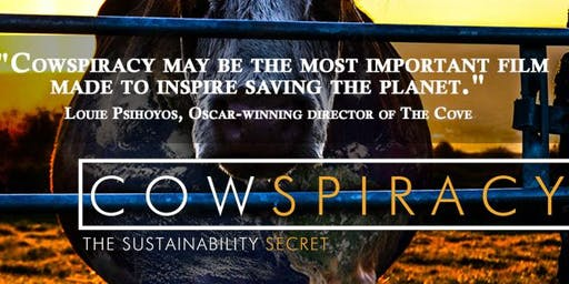 Cowspiracy - Movie and climate-friendly snacks - Nov 24