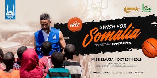 YOUTH NIGHT: Swish for Somalia