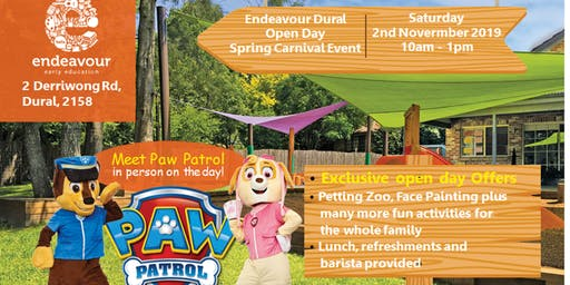 Endeavour Early Education Dural - Open Day Spring Carnival Event