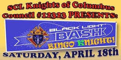 St. Catherine Laboure Knights of Columbus 12323 Black Light Bingo Night