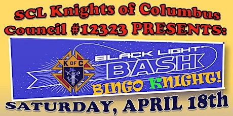 St. Catherine Laboure Knights of Columbus 12323 Black Light Bingo Night tickets