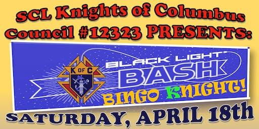 St. Catherine Laboure Knights of Columbus 12323 Black Light Bingo Night