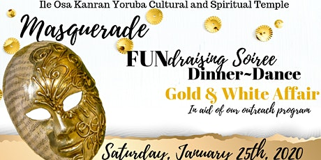 Masquerade FUNdraising Soiree- Dinner & Dance (GOLD AND WHITE AFFAIR) tickets