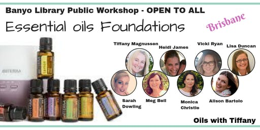 Essential Oils Foundations Class - Brisbane Public Event