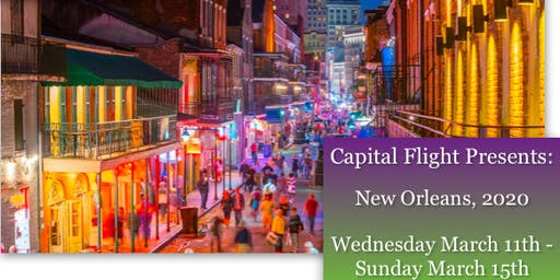 Capital Flights New Orleans 2020