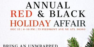 ANNUAL RED AND BLACK HOLIDAY AFFAIR TOY DRIVE EDITION OF LURE DAY PARTY