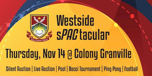 Westside sPACtacular  Parents Social November 14, 2019