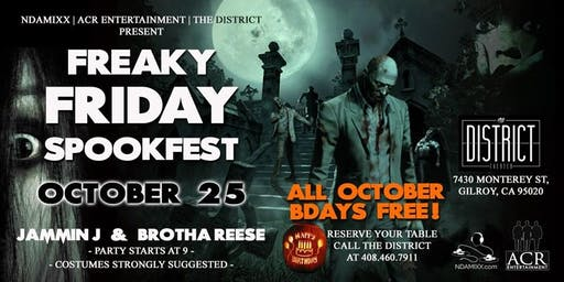 Freaky Friday Spookfest 2019