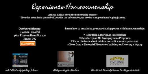 Experience Homeownership