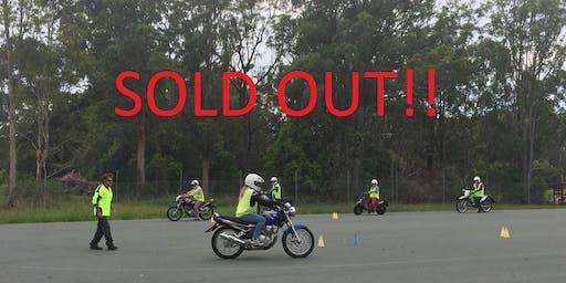 Pre-Learner Rider Training Course 191102LA