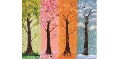 2 Hour Painting Class - Four Seasons (2019-11-30 starts at 3:00 PM)