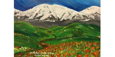 2 Hour Painting Class - Mountain View (2019-12-01 starts at 3:00 PM)