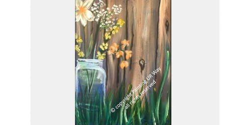 2 Hour Painting Class - Mason Jar (2019-11-10 starts at 3:00 PM)