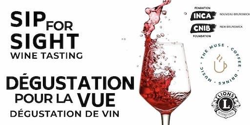 Sip for Sight: Wine Tasting - Dégustation pour la vue