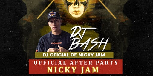 Nicky Jam Halloween After Party Oficial