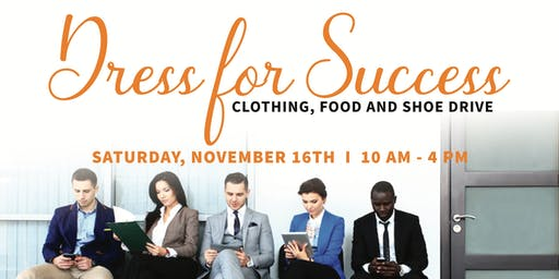 Dress for Success Clothing, Food & Shoe Drive with Sharifah Hardie