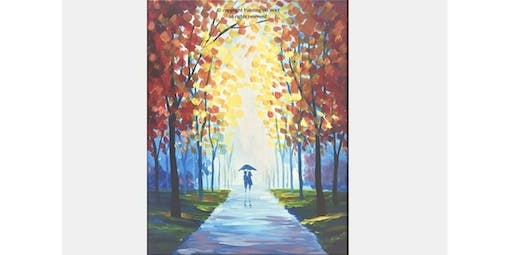 2 Hour Painting Class - Evening Stroll (2019-11-22 starts at 7:00 PM)