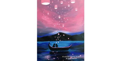 2 Hour Painting Class - Enchanted Lake (2019-11-17 starts at 3:00 PM)