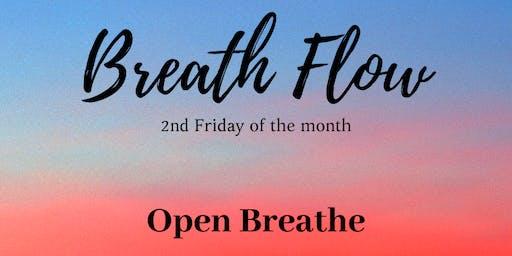 Breath Flow - Monthly Open Breathe
