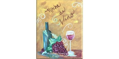 2 Hour Painting Class - Noche de Vino (2019-11-15 starts at 7:00 PM)