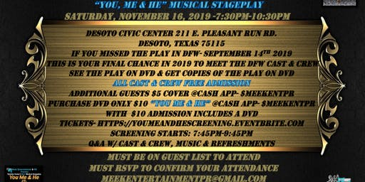 """You, Me & He"" Musical Stageplay on DVD1st Official Screening & Cast Wrap Party"