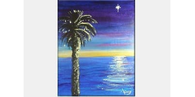 2 Hour Painting Class - Star Light, Star Bright (2019-12-06 starts at 7:00 PM)