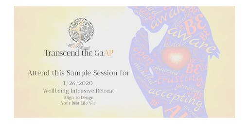 Wellbeing Intensive Sample Session 3