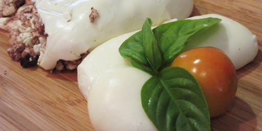 MOZZARELLA & BURRATA Cheese Making Class - 2 Cheeses in 2 hours