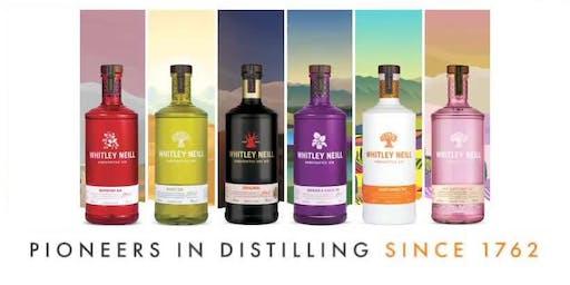 Whitley Neill Gin Popup Bar & Masterclass