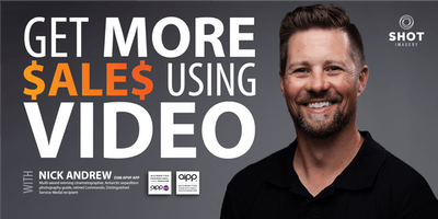 GET MORE SALES USING VIDEO with Nick Andrew - Hosted by The Good Studio