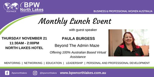 BPW North Lakes November Lunch