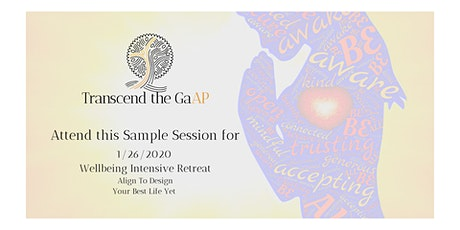 Wellbeing Intensive Sample Session 4 tickets