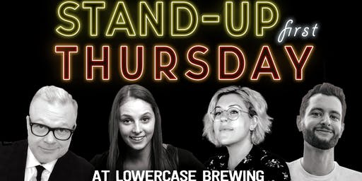 Stand-Up Comedy: Duane Goad, Monica Nevi, Clara Pluton and Chase Mayers live at Lowercase Brewing!