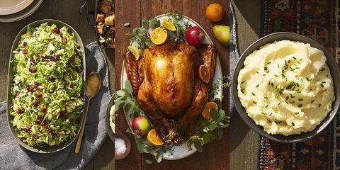 Seaside's Classic Thanksgiving  Buffet