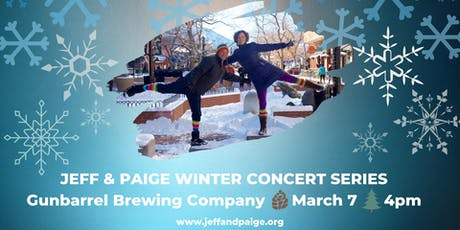 Jeff & Paige Winter Concert Series @ Gunbarrel Brewing Co. tickets