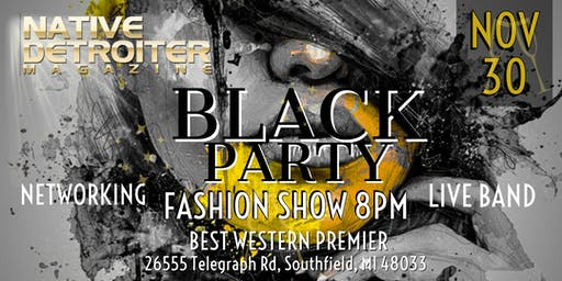 Native Detroiter Magazine Black Party