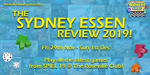 Sydney Essen Review 2019