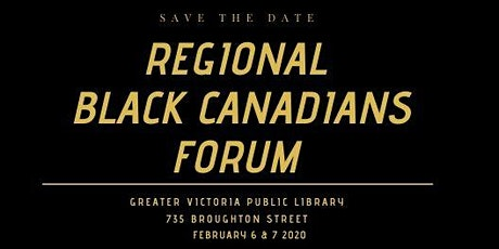 Regional Black Canadians Forum tickets