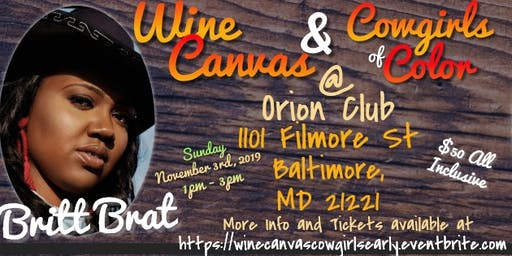 Wine Canvas & Cowgirls of Color
