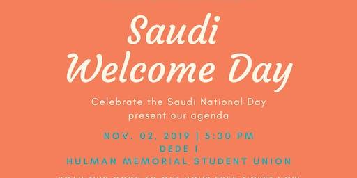 Saudi Welcome Day