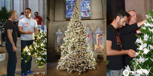 Decorate the World Tree of Hope at Grace Cathedral Nov. 30 to Dec. 8