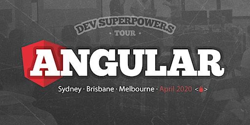 Angular Superpowers Tour - Sydney